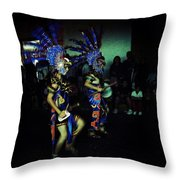 Our Lady Of Guadalupe Festival Throw Pillow