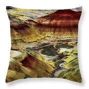 Painted Hills - Oregon Throw Pillow