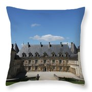 Palace Bussy Rabutin - Burgundy Throw Pillow