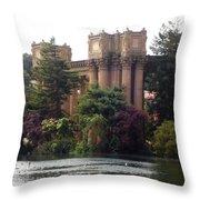 Palace Of Fine Arts 9 Throw Pillow