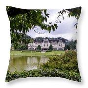 Palacio Quitandinha - Petropolis Brazil Throw Pillow