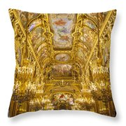Palais Garnier Interior Throw Pillow