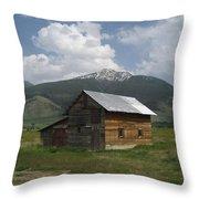 Paradise Valley Montana Throw Pillow