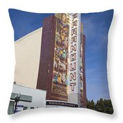Paramount Theatre Oakland California Throw Pillow