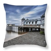Penarth Pier 1 Throw Pillow