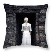 Period Lady Throw Pillow