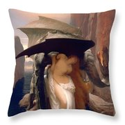 Perseus And Andromeda  Throw Pillow