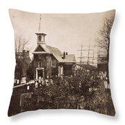 Philadelphia, C1855 Throw Pillow