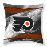 Philadelphia Flyers Throw Pillow