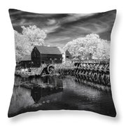 Philipsburg Mill Throw Pillow