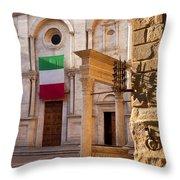 Pienza Tuscany Throw Pillow