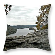 Pinnacle Overlook  Throw Pillow