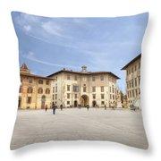 Pisa Throw Pillow by Joana Kruse