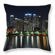 Pittsburgh Panorama Throw Pillow
