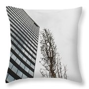 Plastic Trees Throw Pillow