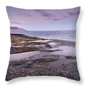 Plomo Beach Throw Pillow
