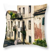 Ponta Delgada Azores Throw Pillow