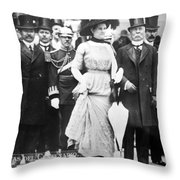Porfirio Diaz (1830-1915) Throw Pillow