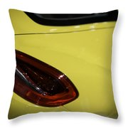 Porsche Cayman S Throw Pillow by Sebastian Musial