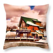 Port Dover Throw Pillow