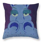 Potamus Throw Pillow