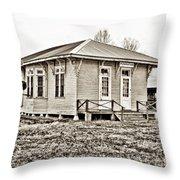 Powhatan - Hdr Sepia Throw Pillow