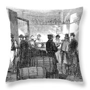 Presidential Election, 1864 Throw Pillow
