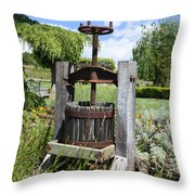 Make Grapes Whine Throw Pillow