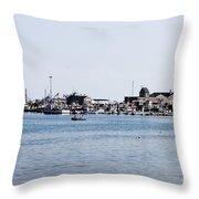 Provincetown Harbor Throw Pillow
