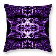Purple Series 5 Throw Pillow