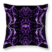 Purple Series 7 Throw Pillow