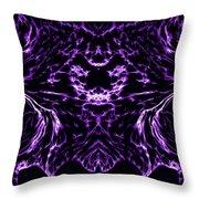 Purple Series 8 Throw Pillow