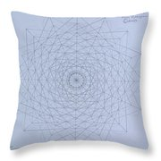 Quantum Foam Throw Pillow