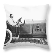 Race Car, 1914 Throw Pillow