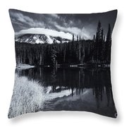 Rainier Capped Throw Pillow