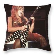 Randy Rhoads Throw Pillow
