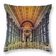 Reception Hall Of The Capitol - Havana Cuba Throw Pillow