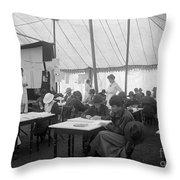 Red Cross, 1916 Throw Pillow