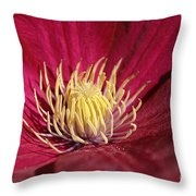 Yellow Fingers Throw Pillow
