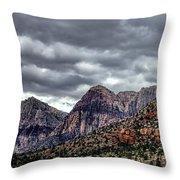 Red Rock Canyon - Las Vegas Nevada Throw Pillow