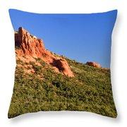 Red Rock Formation Sedona Arizona 27 Throw Pillow