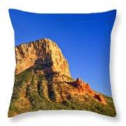 Red Rock Formation Sedona Arizona 28 Throw Pillow