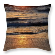 Reflections Of Sunset Throw Pillow