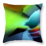 Rhapsody 7 Throw Pillow