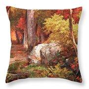 Richards' October Throw Pillow