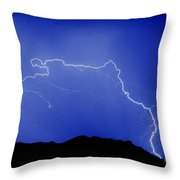 Rincon Lightning Throw Pillow