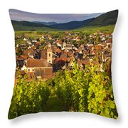 Riquewihr Alsace Throw Pillow