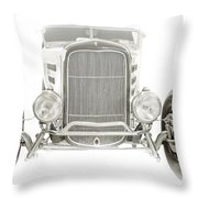 Roadster Throw Pillow