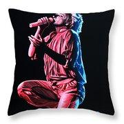 Rod Stewart Throw Pillow