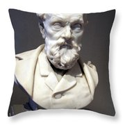 Rodin's J. B. Van Berckelaer Throw Pillow